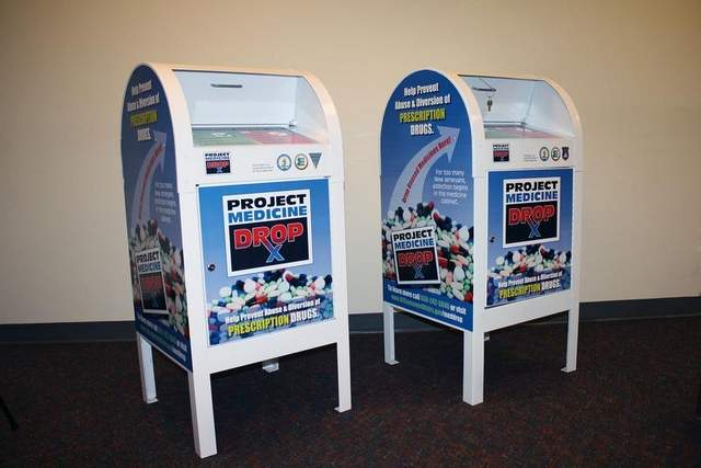 prescription drug drop boxes